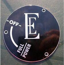 2427 - Class 37 ENGLISH ELECTRIC Control Label NEW - UK Freepost