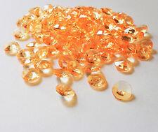 100 Glitzersteine 12mm Acrylsteine Acryldiamanten Kristalle Dekosteine Streudeko