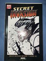 Secret Invasion 1 Variant Blank. Wolverine Sketch By Jim Muniz