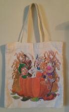 Vintage Cereal Characters Halloween Bag - Canvas Pumpkin General Mills Trix Fall