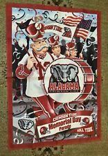 Alabama Crimson Tide Memorial Day Parade (2 Sided) Banner Sign 28� X 40� Flag