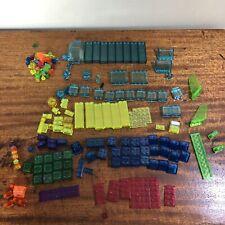 Lego Bricks transparent Lot Assorted Colors And Shapes