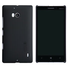 Black Slim Matte Hard Skin Case Cover For Nokia Lumia 930 +Screen Film Protector