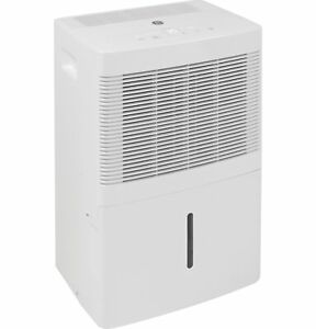 GE 115-Volt 20-Pint Portable Dehumidifier with Drain, White, ADEW20LY