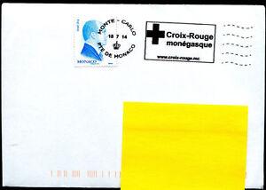 Red Cross 2014 postmark Monaco on cover