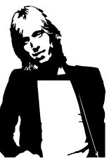 Tom Petty and the Heartbreakers Full Moon Fever vinyl decal car bumper sticker