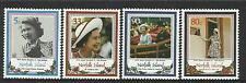 NORFOLK IS 1986 QUEEN ELIZABETH II 60th BIRTHDAY 4v MNH