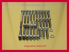 MZ 125 RT / MZ125RT - V2A Schrauben Edelstahlschrauben Motorschrauben