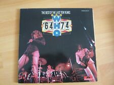 The WHO - 64 - 74 - The Best of the last ten years     -2 LP-