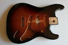 FENDER Stratocaster Body Korpus red alder brown sunburst 3 tone Gitarrenbau