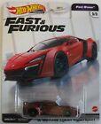 Hot Wheels Premium Fast & Furious Fast Stars W MOTORS LYKAN HYPERSPORT red 5/5