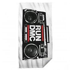 RUN DMC Boom Box Stereo 29x60 Beach Towel **NEW band music concert tour
