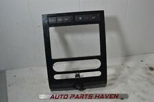 07-10 Ford Expedition - Front Center Radio Dash Bezel Heater Control Black OEM