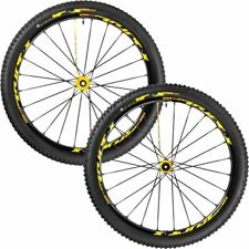 --NEW-- MAVIC CROSSMAX XL PRO LTD 27.5'' INTL 016 YELLOW WHEEL SET