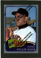 1996 Topps Chrome Willie Mays Commerative Card #19                        A540