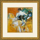 Henri Toulouse-Lautrec- Women in a Corset Print Newly Framed