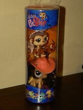 Littlest Pet Shop Halloween Tube Cowgirl Horse Angel Monkey 1080 1081