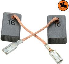 Escobillas de Carbón BOSCH GWS 11-125 CIH amoladora - 5x10x16mm - Con Parada Aut