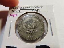 X90 Nicaragua 1878 Centavo