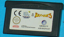 Winnie the Pooh's Rumbly Tumbly Adventure + Rayman 3 - Game Boy Advance GBA PAL
