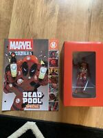 RARE Eaglemoss MARVEL Fact Files Figurine Collection DEADPOOL New and Sealed