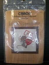 Caron Hallmark Design Collection Mouse with Strawberry Crewel Kit New 6410 1977