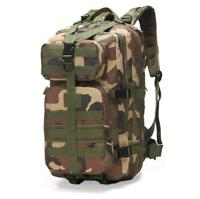 35L Men Women Outdoor Military Army Tactical Backpack Bags Sport Travel Tackle