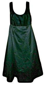 Vintage ZUM ZUM Black Velvet Satin Long Gown 14 with under netting