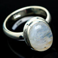 Rainbow Moonstone 925 Sterling Silver Ring Size 8.25 Ana Co Jewelry R22257F