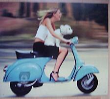 Altes Blechschild Oldtiimer Vespa Piaggio Roller Reklame  Werbung gebraucht