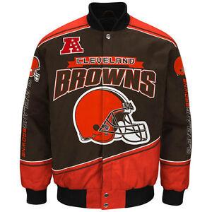 Cleveland Browns NFL Enforcer Jacket - Size Adult Medium Free Ship