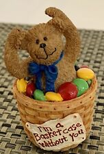 """Basketbearies """"Frazzle"""" I'm a Basketcase Without You #24707 The Boyds Collection"""