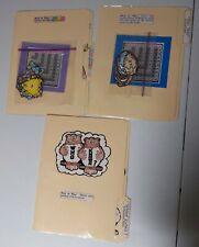 lot of 3 multiplication file folder games for elementary beginning level mint