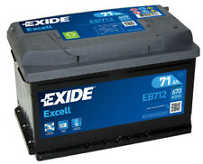 Batteria auto EXIDE EB712 71AH ampere 670A Excell cod. 3661024034647