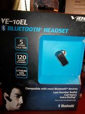 Vibe VE-10EL Black Bluetooth Headset NEW IN BOX Take A Look!