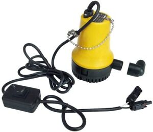 DC 12V  Solar Water Pump, 50W Submersible Well Pump for Irrigation Garden Camp