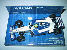Minichamps F1 1/43 WILLIAMS BMW FW23 RALF SCHUMACHER 1ST WIN SAN MARINO GP 2001