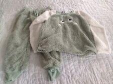 Jaclyn Intimates Pajamas Fuzzy Monster3 Piece Set TAC