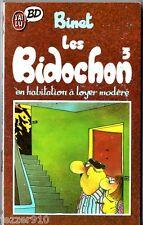 BINET ¤ LES BIDOCHON n°3 ¤ EN HLM ¤ 10/1988 ¤ J'AI LU BD 104