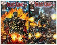 Dead King #1 & 2 Mini Series (1998 Chaos! Comics) Unread! NM