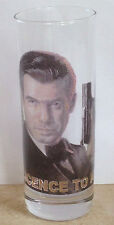 JAMES BOND Pierce Brosnan SHOT GLASS 007