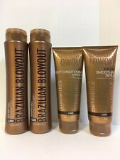 BRAZILIAN BLOWOUT ACAI HAIR MAINTENANCE SET-SHAMPOO,CONDITIONER,MASQUE,SERUM