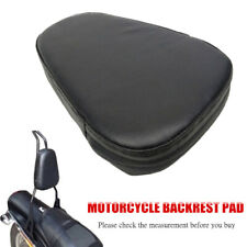 PU Leather Refit Motorcycle Scooter Rear Seat Back Backrest Triangle Cushion Pad