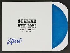 ROME RAMIREZ SUBLIME SIGNED RSD 2017 DEMOS BLUE VINYL LP RECORD ALBUM W/COA