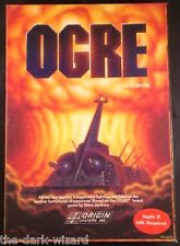 OGRE - Apple II - Origin Systems - Complete - Turn Based Strategy Complete RARE