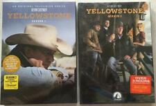 Yellowstone Season 1 2 (DVD,8-Disc) Free shipping