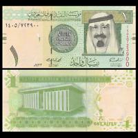 Saudi Arabia 1 Riyal, 2012, P-31, UNC