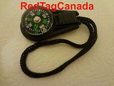 Zipper Pull Mini Compass Backpack Bag Strap Camping - Canada