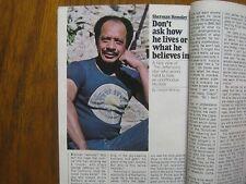 1982 TV  Guide  (JILL  WHELAN/OLIVIA  NEWTON-JOHN/SHERMAN  HEMSLEY/TED  KNIGHT