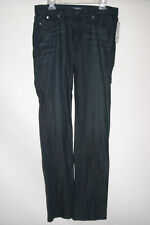 Women's Rock & and Republic LowRise Straight Stella Blue Jeans Adore Blue 30x36